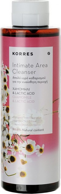 ab93c02c0a Korres Intimate Area Cleanser Chamomile   Lactic Acid 250ml